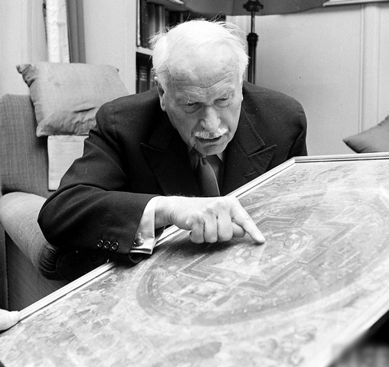 Carl Jung explored mandalas as a tool to study the human psyche