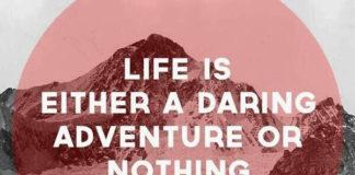 helen keller on life adventure