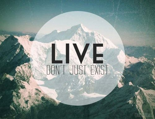 live dont just exist